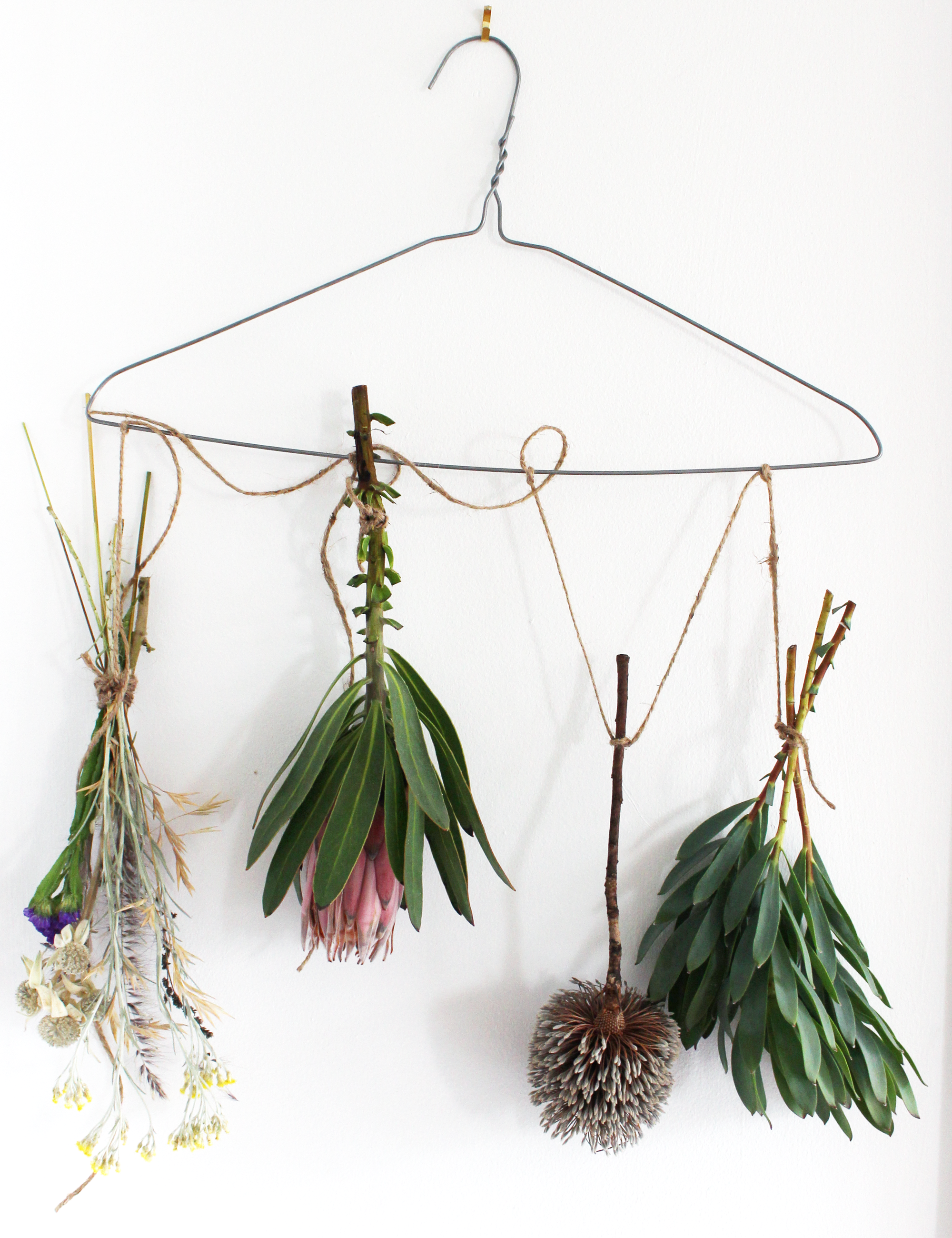 Hanging Dried Flowers
